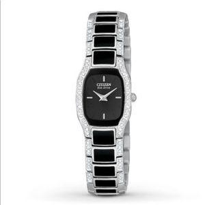 Citizen Accessories - Citizen EcoDrive Normandie Swarovski Crystal Watch